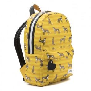 Zebra trend rugzak boys M Leopard yellow in de kleur geel