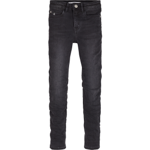 Calvin Klein kids girls high rise skinny in de kleur black stretch