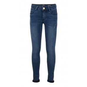 Indian blue jeans girls blue jazz super skinny fit in de kleur jeansblauw