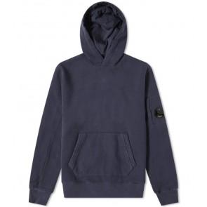 CP Company undersixteen hooded sweater trui met lens in de kleur donkerblauw