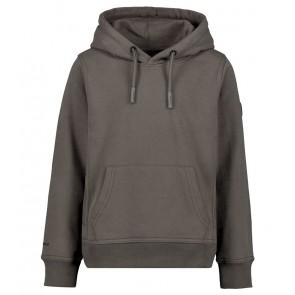 Airforce kids boys hooded sweater trui in de kleur gun metal grijs