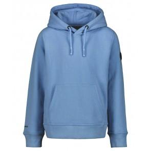 Airforce kids boys hooded sweater trui in de kleur petrol blauw