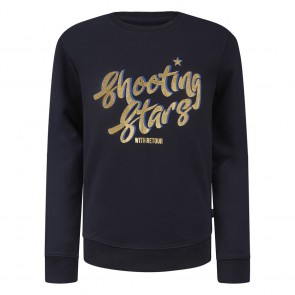 Retour jeans girls Tessy sweater trui shooting stars in de kleur donkerblauw