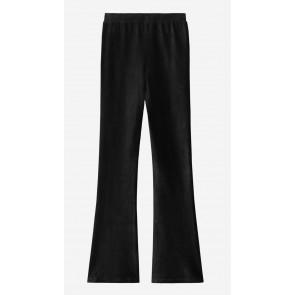 Nik en Nik girls Farica legging flared rib broek in de kleur zwart