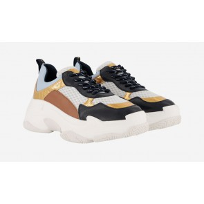 Nik en Nik girls chunky dad sneaker in de kleur multicolor
