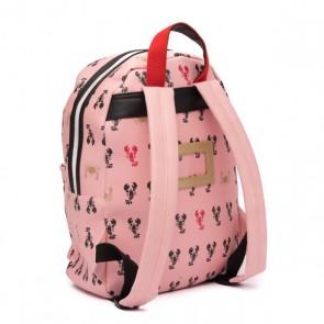 Zebra trends ruzak lobster M kreeften in de kleur roze