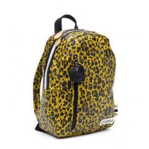 Zebra trends rugzak M Yellow leo in de kleur zwart/geel