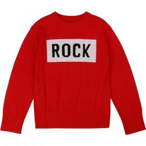 Zadig en Voltaire fijngebreide trui Rock met cashmere in de kleur rood