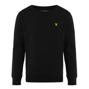 Lyle and Scott sweater trui met mini logo in de kleur zwart