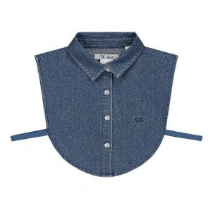 Nik en Nik girls jeans collar los kraagje in de kleur jeansblauw