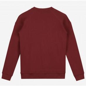 Nik en Nik kids boys Monzo sweater in de kleur bordeaux rood