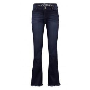 Retour jeans broek Annemiek flared broek in de kleur donkerblauw