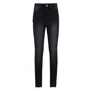 Retour jeans girls high waist jeans broek Brianna in de kleur black denim