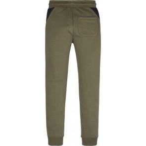 Calvin klein jeans boys sweatpants broek in de kleur army green/zwart