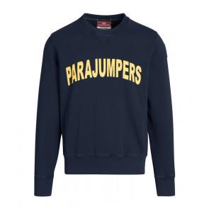 Parajumpers kids Caleb sweatshirt sweater trui in de kleur navy donkerblauw