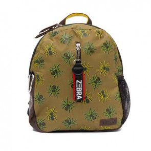 Zebra trends boys rugzak Spider in de kleur army green