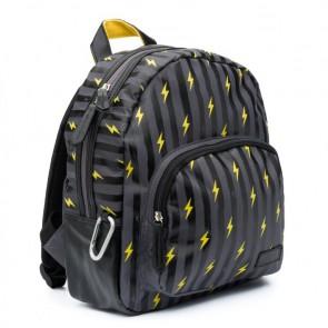 Zebra trends boys rugzak Lightning box in de kleur grijs