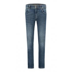 Ballin Amsterdam kids the Diago skinny jeans in de kleur jeansblauw