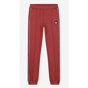 Nik en Nik boys track jacket Murry trackpants in de kleur mid red bordeaux rood