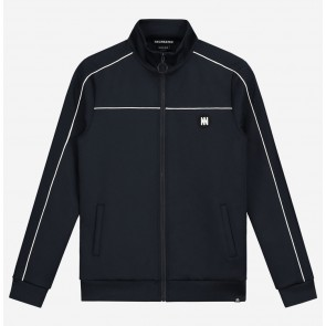 Nik en Nik boys track jacket Murry trackjacket in de kleur navy donkerblauw
