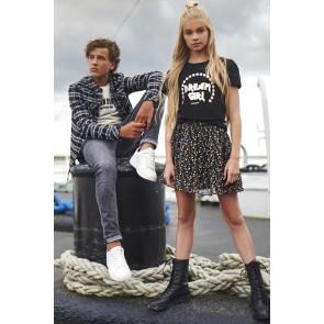 Nik en Nik kids girls dream girl t-shirt in de kleur zwart