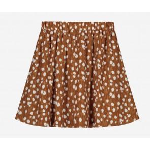 Nik en Nik kids girls rok Cissy deer skirt in de kleur brown