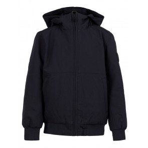 Airforce kids boys padded bomber winterjas technical softshell in de kleur donkerblauw