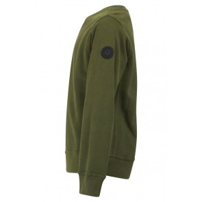 Airforce kids boys sweater trui in de kleur olive night army green