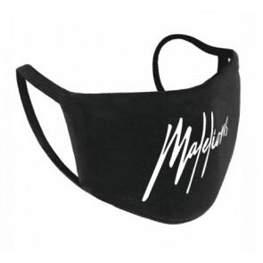Malelions mondkapje face mask in de kleur zwart