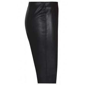 D-xel vally zwart imitatie leren broek in de kleur zwart