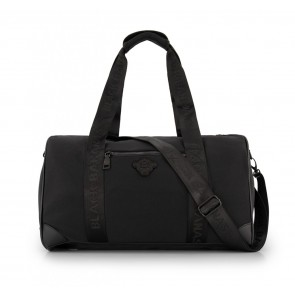 Black Bananas kids junior shadow dufflebag in de kleur zwart