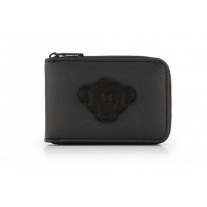 Black Bananas kids junior shadow wallet in de kleur zwart