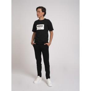 Nik en Nik boys pantalon broek Ferdy trousers in de kleur zwart