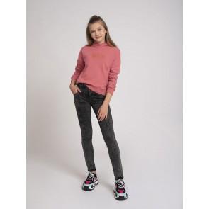 Nik en Nik hoodie sweater trui Anika in de kleur vintage pink roze