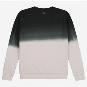 Nik en Nik Dennis sweater trui tie dye in de kleur groen/grijs