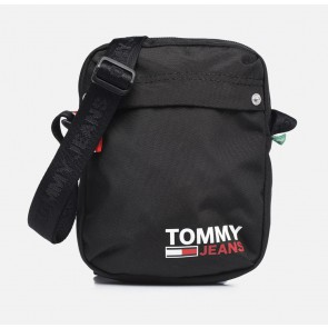 Tommy Hilfiger campus boy reporter cross body bag in de kleur zwart