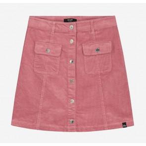 Nik en Nik girls Florijne corduroy rib skirt in de kleur vintage pink