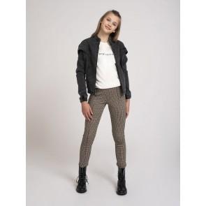 Nik en Nik girls Frikka denim jacket in de kleur antraciet grijs