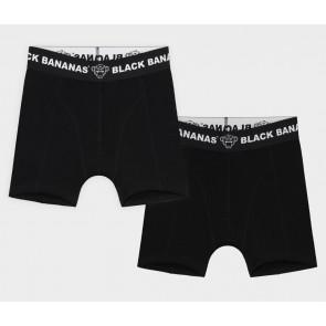 Black Bananas kids junior underwear boxershorts in de kleur zwart