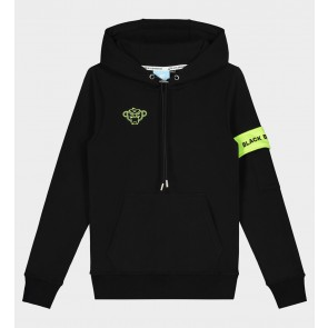 Black Bananas kids junior JR Captain Hoody in de kleur black zwart