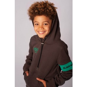 Black Bananas kids junior JR Captain Hoody in de kleur grey grijs