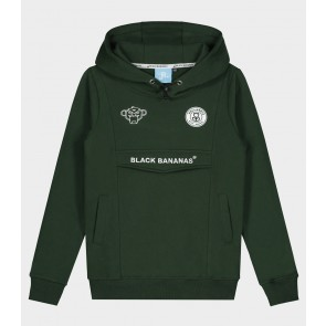 Black Bananas kids junior JR Anorak hoody sweater in de kleur moss green