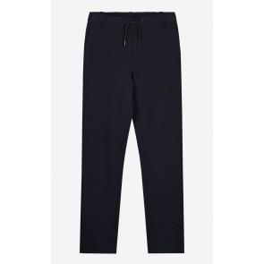Nik en Nik kids boys stretch broek Ferdy trousers in de kleur donkerblauw