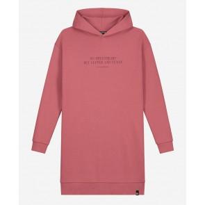 Nik en Nik kids girls sweat jurk no sweatheart in de kleur vintage pink