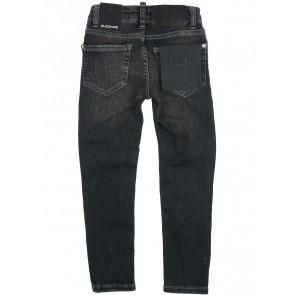 2Legare skinny jeans Noah in de kleur mid grey antraciet grijs