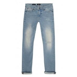 Rellix boys jeans broek Xyan skinny 2703 in de kleur used light denim