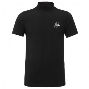 Malelions junior kids turtle neck col shirt in de kleur zwart