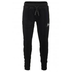 Malelions junior kids trackpants broek clarence in de kleur zwart