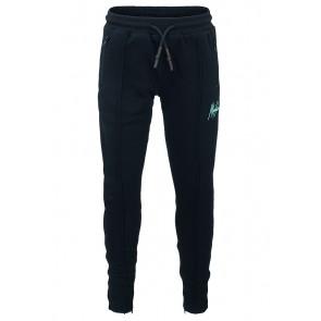 Malelions junior kids trackpants broek clarence in de kleur navy mint