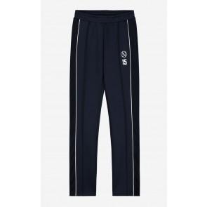 Nik en Nik girls sweat broek met splitje Antje track pants in de kleur donkerblauw